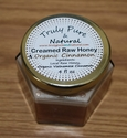 Raw Creamed Honey - Organic Cinnamon 6 oz