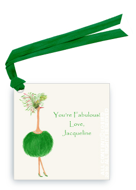 Ostrich - Jacqueline - Gift Tags