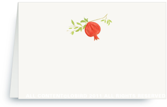 Pomegranate - Holiday Place Cards