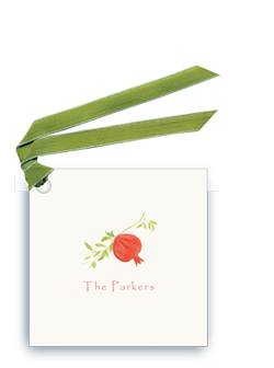 Pomegranate - Gift Tags