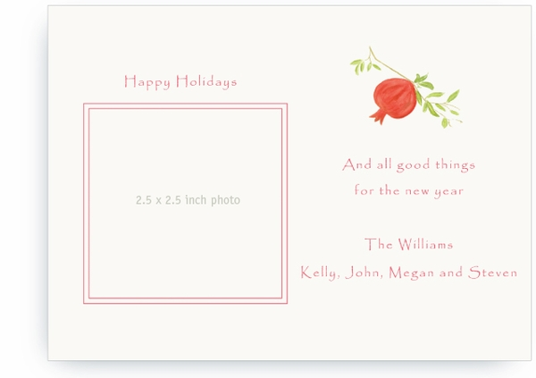 Pomegranate - Photo Greeting Cards