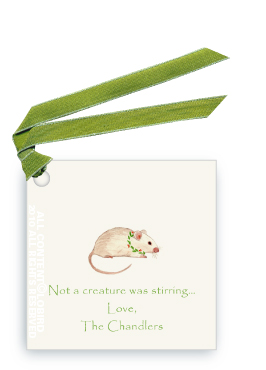 Holiday Mouse - Gift Tags