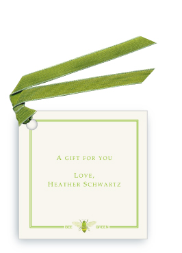Bee Green - Gift Tags