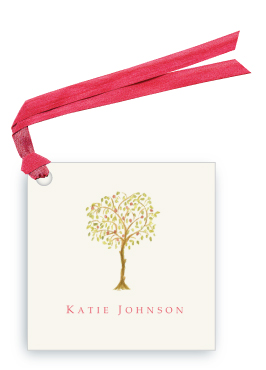 Pomegranate Tree - Gift Tags