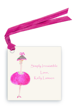 Pink Ostrich - Lulu - Gift Tags
