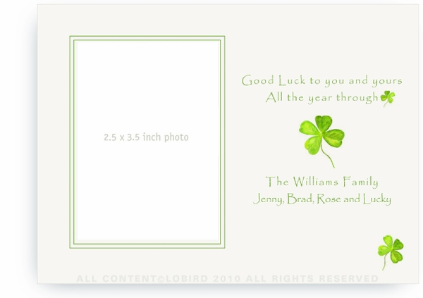 Four Leaf Clover - Photo Greeting Cards