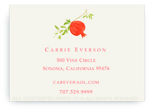 Pomegranate - Calling Cards