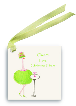 Green Ostrich - Gabbi - Gift Tags