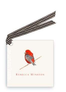 Scarlet Tanager - Gift Tags