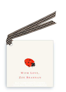 Lady Bug - Gift Tags