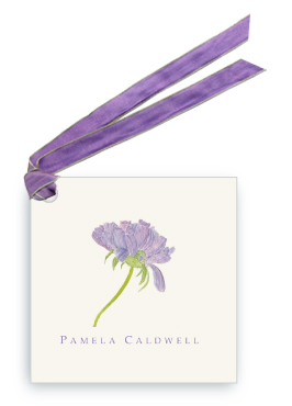 Purple Pincushion - Gift Tags