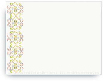"""Tapestry - Paloma - Non-Personalized Note Cards (4.25"""" X 5.5"""")"""