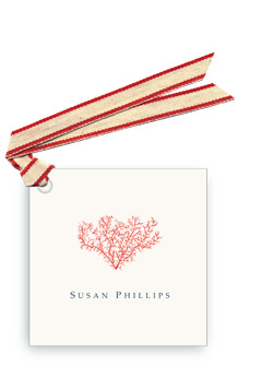 Coral - Gift Tags