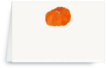 Heirloom Pumpkin - Place Cards