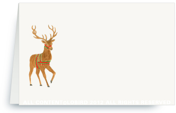 Holiday Reindeer - Place Cards