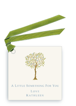 Italian Blue Fruit Tree - Gift Tags
