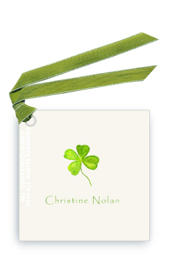 Four Leaf Clover - Gift Tags