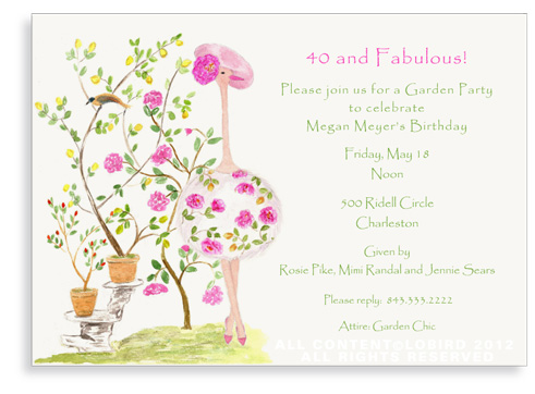 Ostrich - Fleur Camouflaged - Invitations