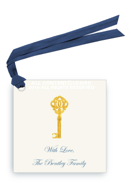 Gold Key Gift tags