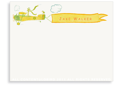 Giraffe Flying Plane - Flat Note cards