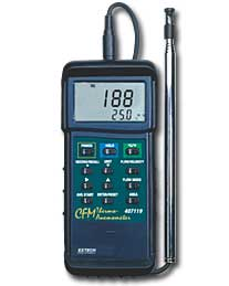 Extech 407119 Heavy Duty CFM Hot Wire Anemometer