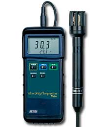 Extech 407445 Heavy Duty Hygro Thermometer with PC Interface with FREE UPS