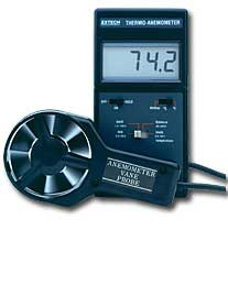 Extech 451112 Big Digit Thermo-Anemometer with FREE UPS