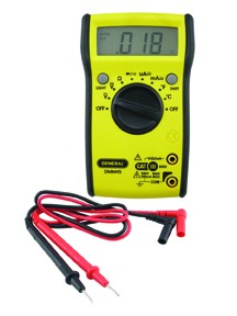 General Tools DMM45 Digital Multimeter with Auto Ranging w/ Backlight