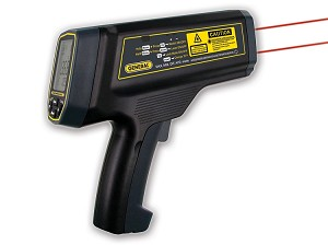 General Tools IRT5000 100:1 Ultra-high Temperature Infrared (IR) Thermometer with Dual Laser Target Tracking System