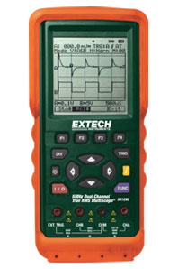 Extech 381295-220 5MHz Dual Channel Multiscope™ - 220V