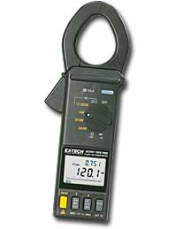 Extech 382068-NIST 1000A True RMS Clamp-on Power Datalogger Kit - NIST Certified