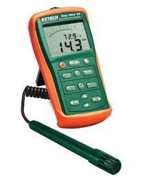Extech EA25-NIST EasyView™ Hygro-Thermometer and Datalogger (NIST Certified)
