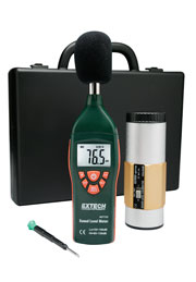 Extech 407732-KIT-NIST Low/High Range Sound Level Meter Kit (NIST Certified)