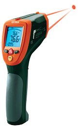 Extech 42570-NISTL Dual Laser InfraRed Thermometer (NIST Certified)