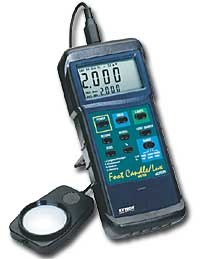 Extech 407026 Heavy Duty Light Meter with PC Interface (NIST Certified - allow 3 weeks for testing)