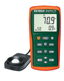 Extech EA33-NIST EasyView™ Light Meter with Memory (NIST Certified)