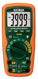 Extech EX505-NIST 11 Function Heavy Duty True RMS Industrial MultiMeter (NIST Certified)