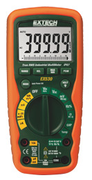 Extech EX530-NIST 11 Function Heavy Duty True RMS Industrial MultiMeter (NIST Certified)