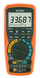 Extech EX540 12 Function True RMS Industrial MultiMeter / Datalogger with FREE UPS