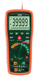 Extech EX570-NISTL 12 Function True RMS Industrial MultiMeter with IR Thermometer (NIST Certified)