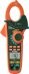Extech Instruments EX612 400A Dual Input AC Clamp Meter + NCV w/ Free UPS