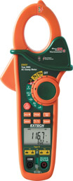 Extech EX622 400A Dual Input Clamp Meter + IR Thermometer + NCV