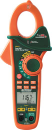 Extech EX623-NISTL 400A Dual Input AC/DC Clamp Meter + NCV + IR Thermometer (NIST Certified)