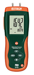 Extech HD700-NIST Differential Pressure Manometer (2psi) (NIST Certified)