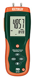 Extech HD750-NIST Differential Pressure Manometer (5psi) (NIST Certified)