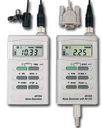 Extech 407355 Noise Dosimeter with PC Interface