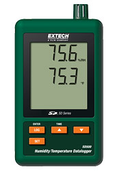 Extech SD500 Humidity / Temperature Datalogger w/ Free UPS