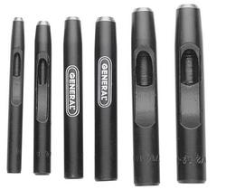 """General Tools 1280B 1/8"""" Hollow Steel Punch"""