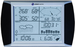 Ambient Weather WS-1090-C Wireless Home Weather Station (Console Only), 915 MHz (discontinued)