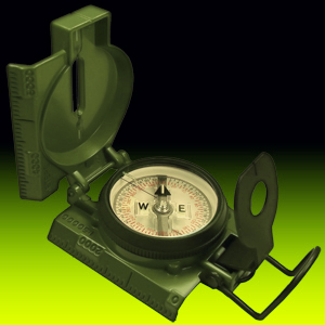 CAMMENGA 3HGB Official US Military Tritium Compass (Giftbox) w/ FREE UPS